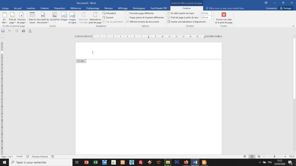 Creez Le Papier A Entete De Votre Entreprise Avec Word Cours On A Virus