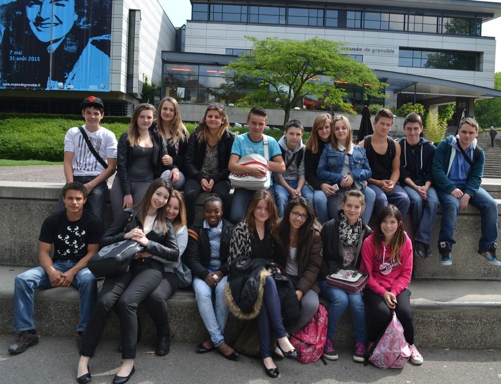 Vidéo | La classe de 3ème de l'an dernier en voyage d'étude