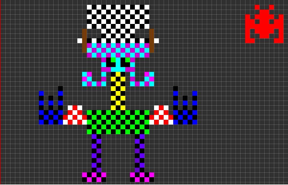 Initiation Au Pixel Art Pour Les Eleves De Quatieme Par