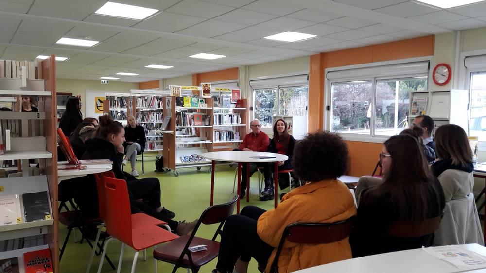 Rencontre littéraire à la médiathèque de Seyssel